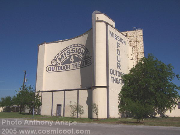 Mission Drive In San Antonio Texas Now Mission Marquee